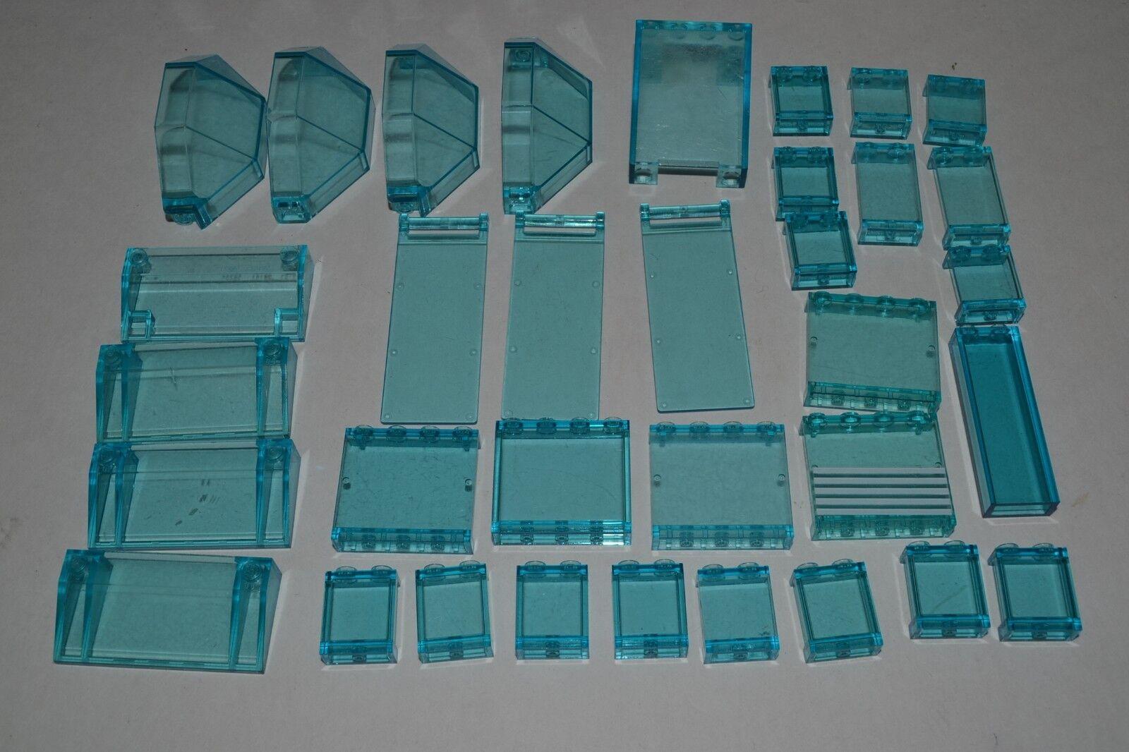 per offrirti un piacevole shopping online Lego Lego Lego Lot of Transparent Trans-blu Panels Wtuttis Parts Windows Ice ADGq  molto popolare