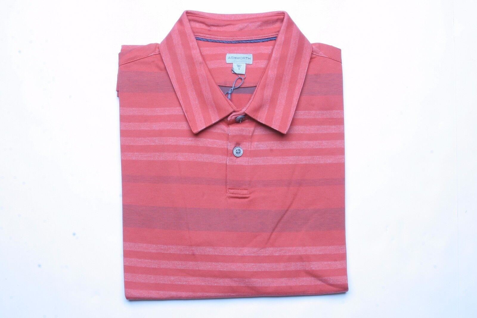 Ashworth Textured Polo Shirt (M) AE9682