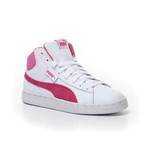 Détails sur Scarpe donna sneakers Puma PUMA 1948 MID L JR bianche mis EU 39