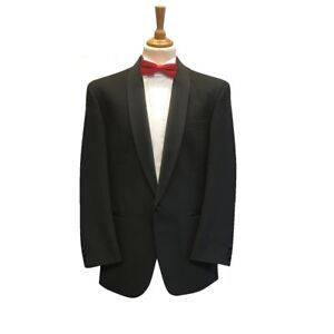 Mens Black Evening Tuxedo Shawl Collar Dinner Jacket - Party/Cruise/Black Tie