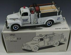 FIRST-GEAR-1951-FORD-F-7-FIRE-TRUCK-BOYS-TOWN-NE-DIE-CAST-1-34-SCALE-MIB