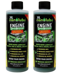 Details about XL Nanolube Oil Additive Engine Treatment Reduces Oil Burning  & Engine Smoke 8oz