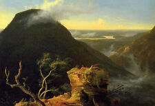Charming art Oil painting Thomas cole - Sunny Morning on the Hudson River canvas