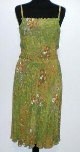 CULT-VINTAGE-039-60-Abito-Vestito-Donna-Viscosa-Rayon-Woman-Dress-Sz-S-42