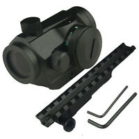 Dual Ill.micro 5 Brightness, Red/green Dot Sight, Free Mauser K98 Scope Mount.