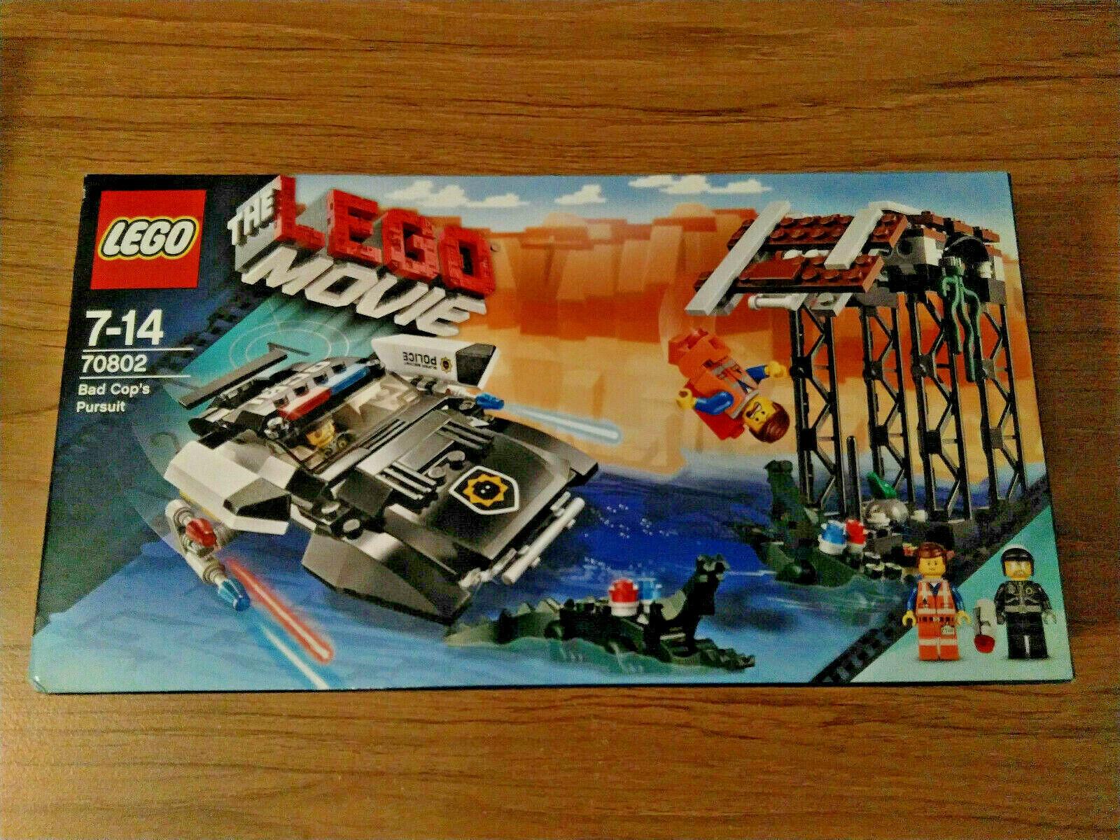 Lego 70802 Bad Cop's Pursuit NEW Nuovo