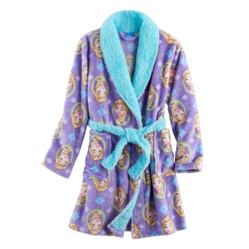 Disney/'s Frozen Elsa Girls Snuggle Plush Robe Size 8 or 10 $40 Retail NWT