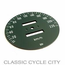 Honda CB 750 Four K2 Zifferblatt Tachometer Scheibe Tacho KM/H Face Plate Speedo