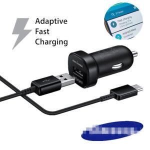 Original-USB-C-Mini-KFZ-Ladegeraet-Ladekabel-Fuer-Samsung-Galaxy-S9-S8-Plus-Note-8