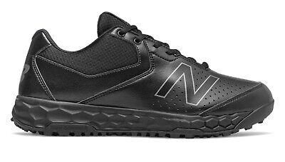 All Black MU950AK3 New Balance Baseball Softball Umpire Field Shoes