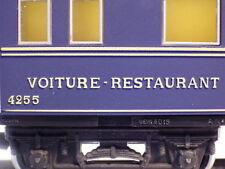 Kleinbahn 386 H0, Speisewagen-Voiture Restaurant 4255, Sammlerzustand, MD2
