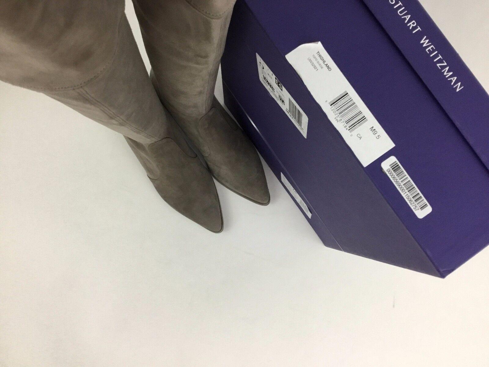 Stuart Weitzman Weitzman Weitzman Thighland Over The Knee Topo Suede Boots Thigh High Booties 9.5 5b2ab6