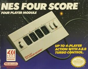 NES Four Score 4 Player Module Brand New Fast Shipping