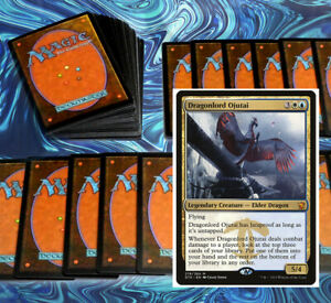 mtg-BLUE-WHITE-AZORIUS-DECK-Magic-the-Gathering-rares-60-cards-azor-dovin-baan
