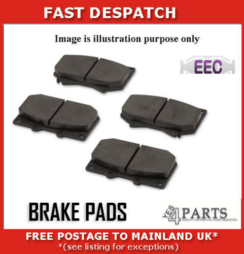 BRP1706 4558 FRONT BRAKE PADS FOR FORD FIESTA 1.5 2012