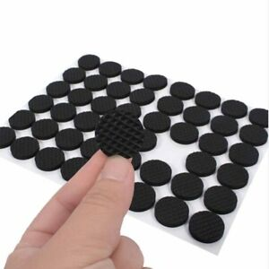 48Pcs Furniture Feet Pads Chair Floor Protectors Non-slip Self Adhesive