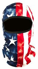 Fleece Balaclava USA American Flag Ski Mask Motorcycle Snowboarding Full Face