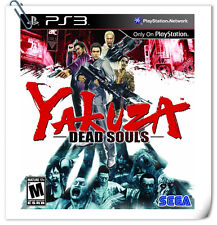 PS3 Yakuza Dead Souls SONY PlayStation Games Action Sega