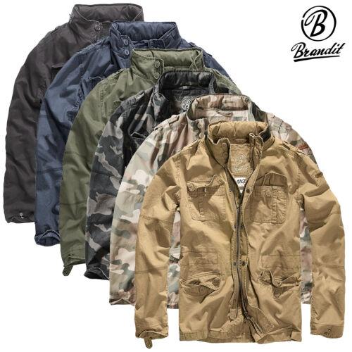 Brandit Britannia Uomo Giacca Men Jacket Giacca campo m65 STYLE in Cotone m-65