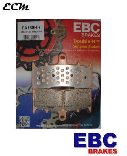 EBC HH Sintered Front Brake Pads Suzuki GSXR750 SRAD 1996-1999 FA188HH