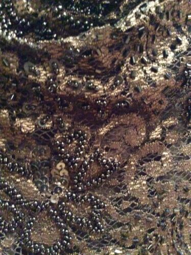 Dress Phase Glass Belt 16 Sequin Bead Eight Brown Size fwrUwvqn