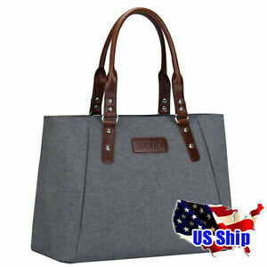 Women-039-s-Handbag-Large-Tote-Casual-Grey-Work-Ladies-Shoulder-Fashion-Bag-S-ZONE