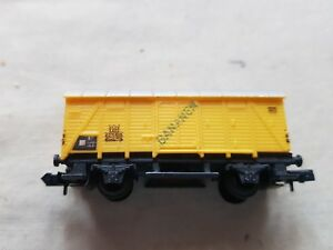 A Model Railway German Long Covered Wagon In N Gauge By Arnold Unboxed