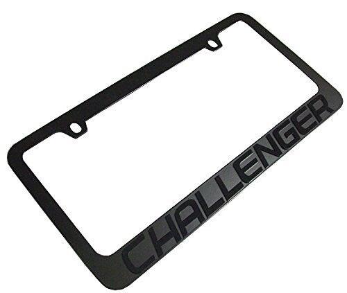 Dodge Challenger License Plate Frame - Stealth Blackout   eBay