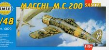 MACCHI MC 200 SAETTA (REGIA AERONAUTICA/ITALIAN AF MARCATURE) 1/48 SMER