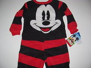 New Disney Mickey Mouse Toddler Boys 3t pajamas Disney Jr.