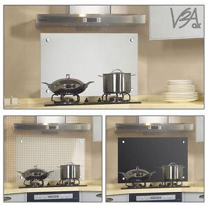 cucina paraschizzi panello piastrellato a parete 80x40cm 3 tipi di vetro ebay. Black Bedroom Furniture Sets. Home Design Ideas