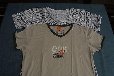 Gr 38/40 Ausgereifte Technologien Sporting Bekleidungspaket Set T-shirts Beigetöne Ca