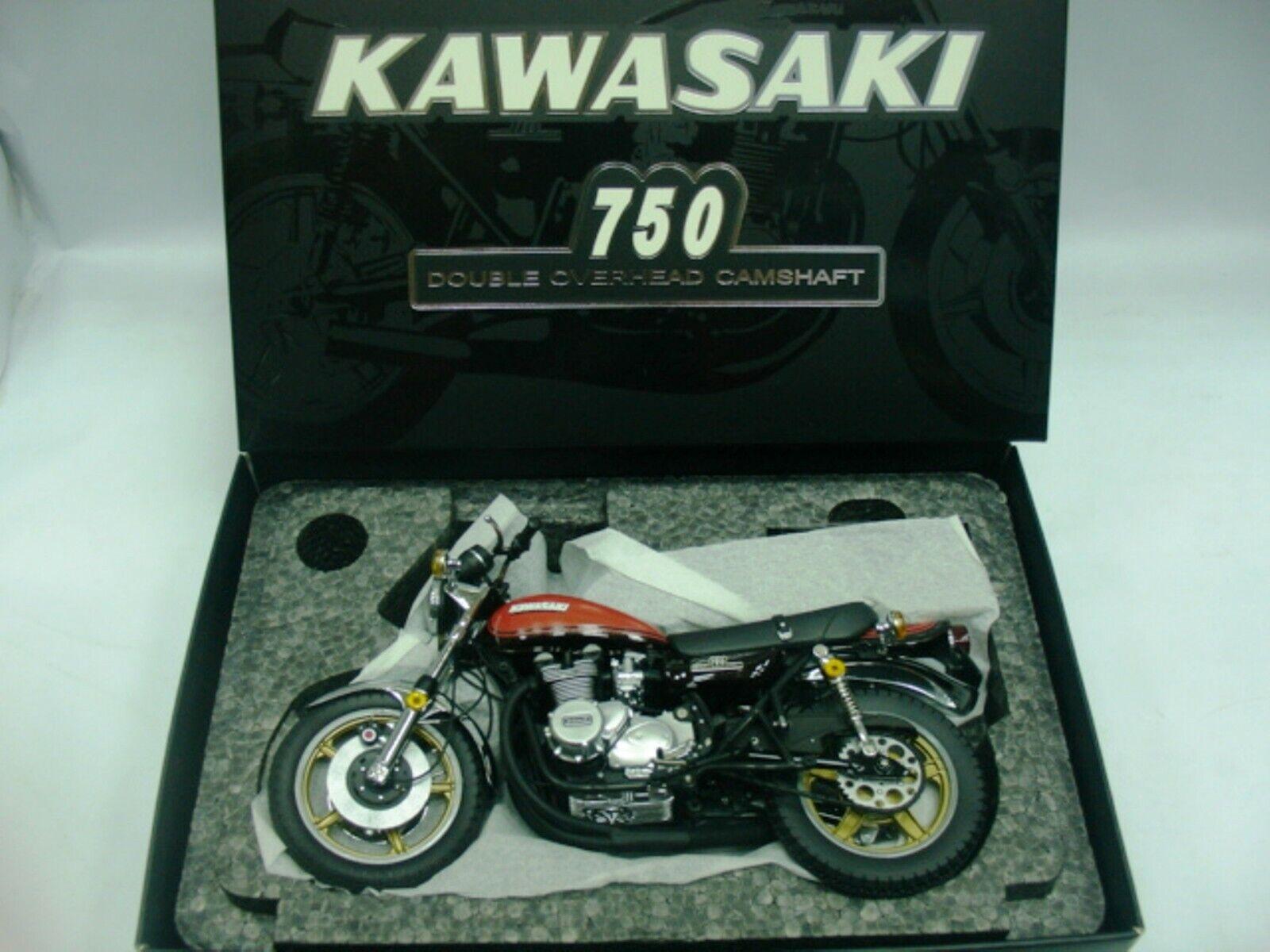 WOW estremamente RARA KAWASAKI 750 Z2 YOSHIMURA 1973 Rosso 1 12 WIT'S - Minichamps