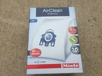 Genuine Miele Vacuum Cleaner Bag Gn Hyclean Dustbags 07189520 05588941 07189520