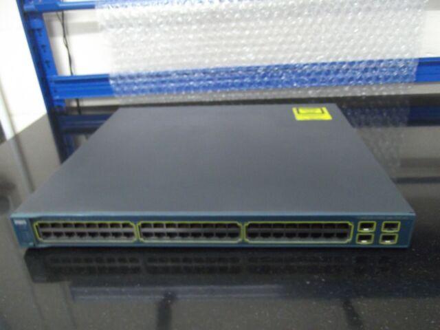 Cisco Catalyseur WS-C3560G-48PS-S 48 Gigabit Port Poe Géré Interrupteur