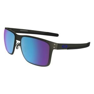 672518fb06970 Image is loading Oakley-Holbrook-Metal-Sunglasses-Matte-Gunmetal-w-Prizm-