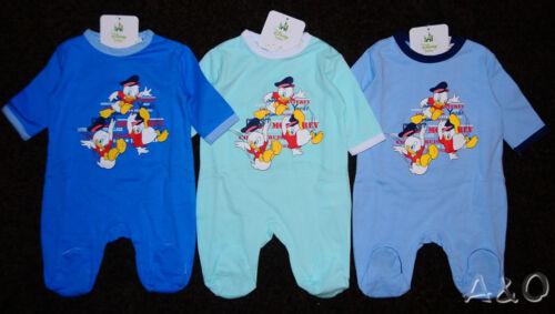 Baby Strampler Schlafanzug Overall Disney Duck Tales Enten 50 56 62 68 74  NEU