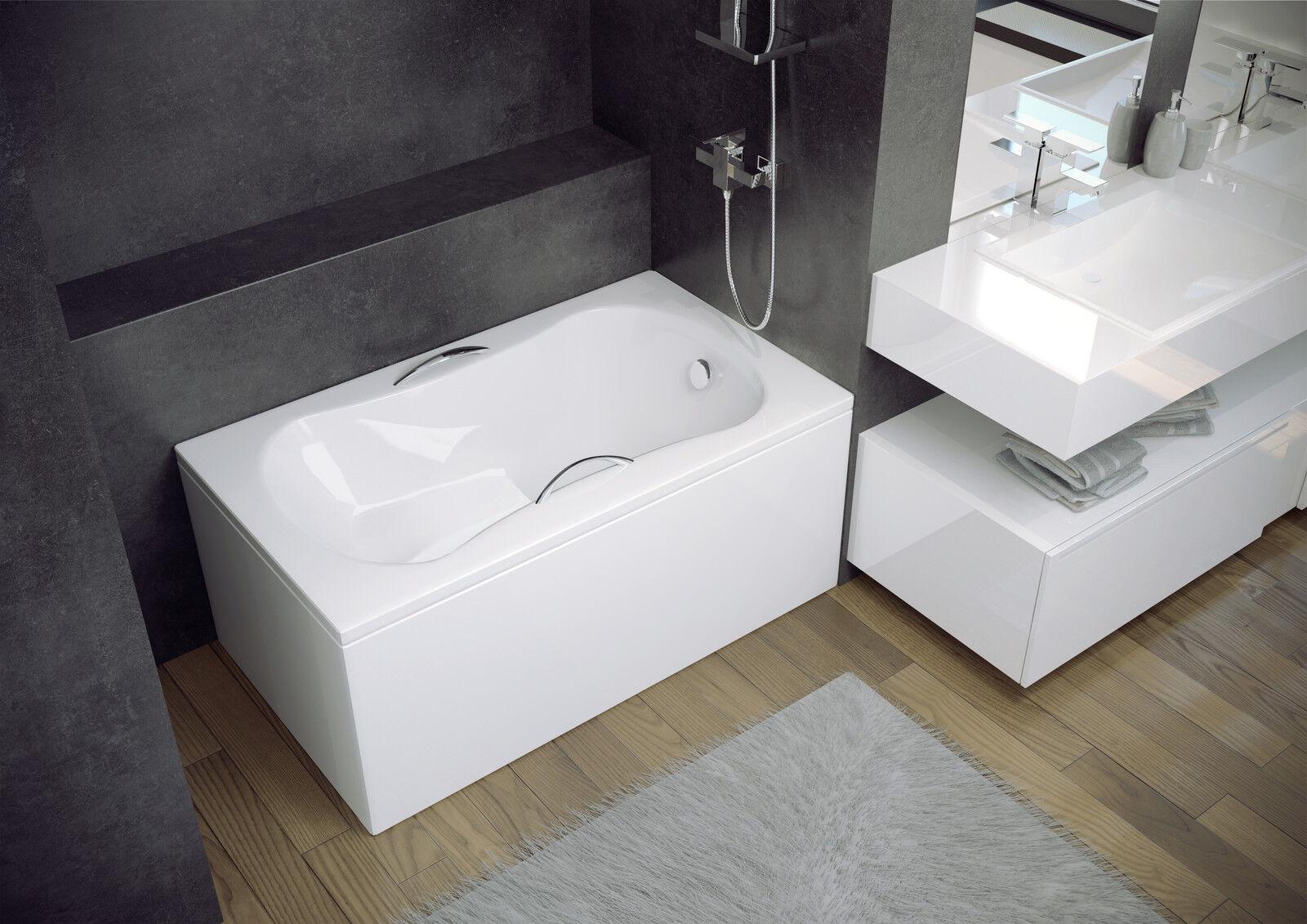Haute Qualité Acrylique BAIN avec siège 120 x 70 économiseur d'espace, bateaux, lofts