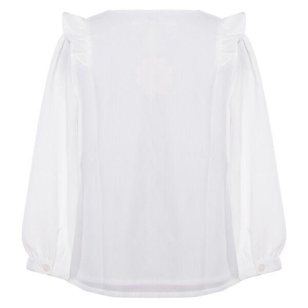 Patachou Kinder Blause mit Rüschen 1 1 1 1 Arm Shirt weiss ecru Mädchen BL2733509 | Haltbarer Service  | Hochwertige Produkte  | Große Auswahl  00e3d8