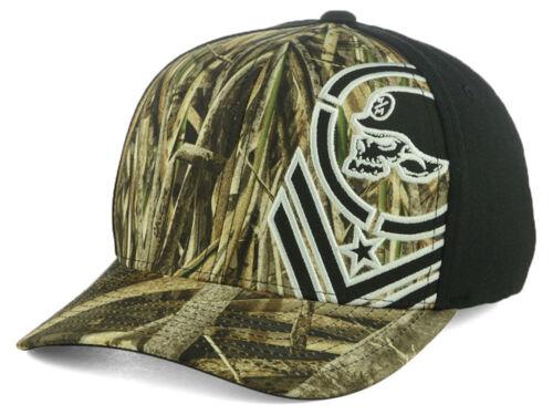 Camo Metal Mulisha Knee Deep FlexFit Baseball Cap S//M Men/'s Hat Black