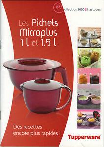 Tupperware - Collection 1000 & 1 astuces : Les pichets Microplus 1 l et 1,5 l