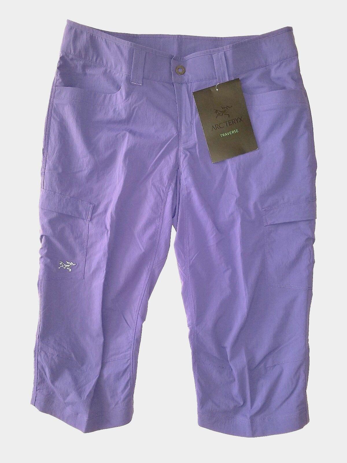 Arc'teryx Parapet Capri Women's Hiking,Camping Shorts\Pant-Size8, MSRP 109