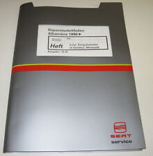 Werkstatthandbuch Seat Alhambra 6 Zylinder 4 Ventiler Motor Einspritzmotor 1996!