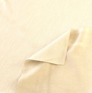 3-YARDS-CREAM-FABRIC-COTTON-BLEND-56-034-WIDE-REMNANT-DESIGNER-FABRIC