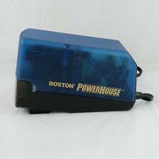 Boston Powerhouse Electric Pencil Sharpener Model 19 Blue School Work Desk Top