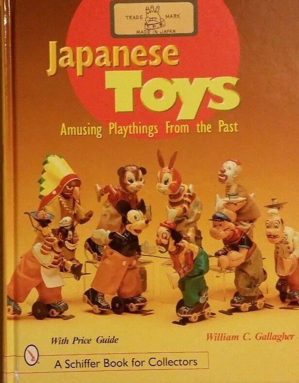 Japanese Spielzeugs  Amusing Playthings from the Past Value Guide Book