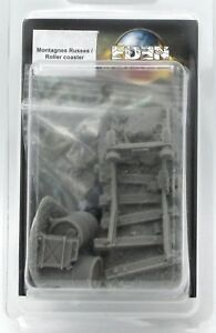 Details about Eden DEC-MON Roller Coaster (Terrain) Amusement Park Ruins  Taban Miniatures NIB