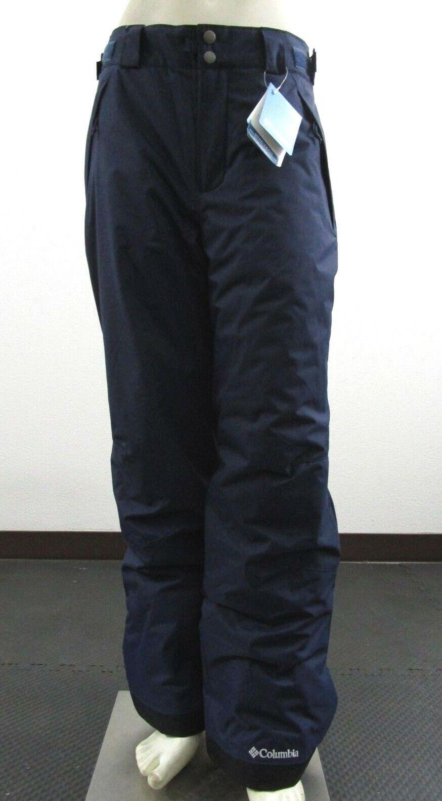 NWT Mens Columbia Arctic Trip OH Insulated Waterproof Snow Ski Pants - Navy bluee