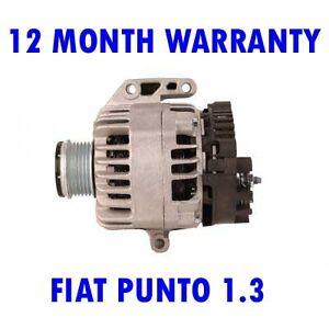 Fiat-Punto-1-3-2003-2004-2005-2006-2007-2008-2009-Alternatore-Rigenerato