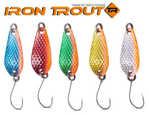 Köder Kunstköder Iron Trout Deep Spoon 4g Forellenblinker Forellenköder